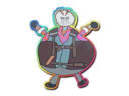Sticker | Poorly Drawn Bloody Darryl (Holo)