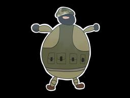 Sticker | Poorly Drawn IDF