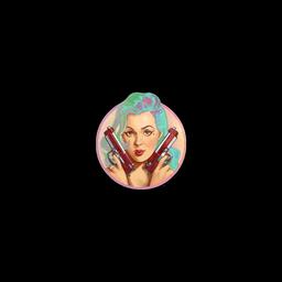 Sticker   Merietta (Holo)