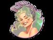 Sticker Ivette(Holo)
