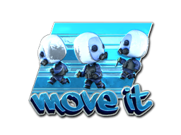 Sticker | Move It (Foil)