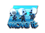 Skin Sticker | Move It (Foil)