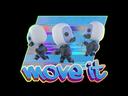 Sticker | Move It (Holo)