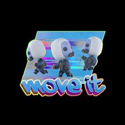 Sticker | Move It(Holo)