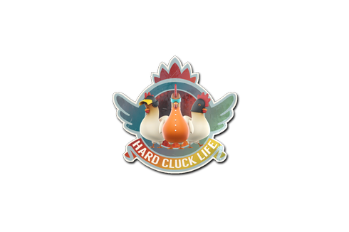 Sticker | Hard Cluck Life(Holo) Prices