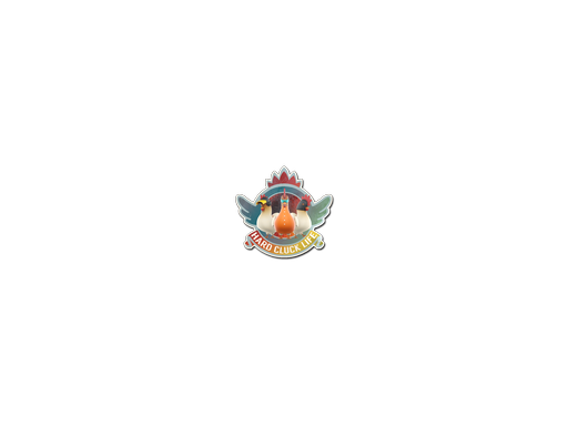 Sticker | Hard Cluck Life (Holo)