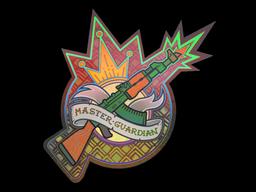 Sticker | Master Guardian (Holo)