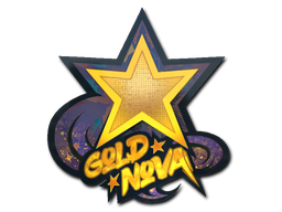 Sticker | Gold Nova (Holo)