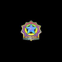 Sticker   Distinguished Master Guardian (Holo)