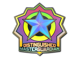 Sticker | Distinguished Master Guardian (Holo)