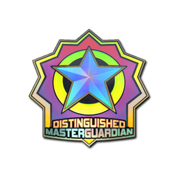 Distinguished Master Guardian (Holo)