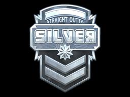 Sticker | Silver (Foil)