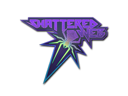 Sticker | Shattered Web