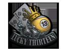 Sticker | Lucky 13 (Foil)