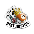 Sticker | Lucky 13