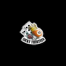 Sticker | Lucky 13