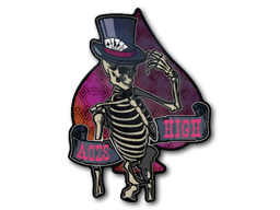 Sticker | Aces High (Holo)