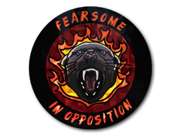Sticker | Fearsome (Holo)