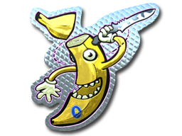Sticker | Stupid Banana (Foil)