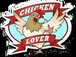 Sticker Chicken Lover