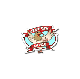 Sticker | Chicken Lover