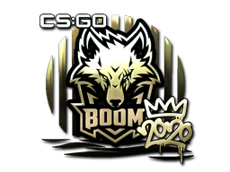 Sticker   Boom (Gold)   2020 RMR