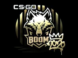 Sticker | Boom (Gold) | 2020 RMR