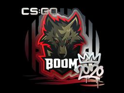 Наклейка | Boom | РМР 2020