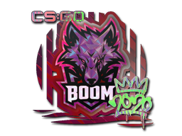 Sticker | Boom (Holo) | 2020 RMR