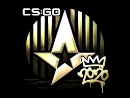 Sticker | Astralis (Gold) | 2020 RMR