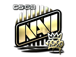 Sticker | Natus Vincere (Gold) | 2020 RMR