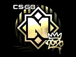 Sticker | Nemiga (Gold) | 2020 RMR