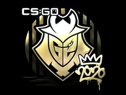 Sticker | G2 (Gold) | 2020 RMR