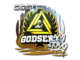 Sticker | GODSENT (Foil) | 2020 RMR