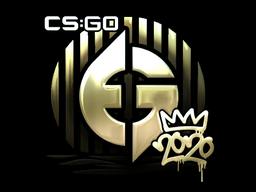 Sticker | Evil Geniuses (Gold) | 2020 RMR