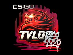 Наклейка | TYLOO | РМР 2020