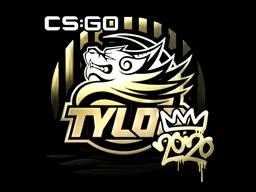 Sticker | TYLOO (Gold) | 2020 RMR