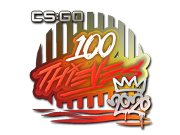 Sticker | 100 Thieves | 2020 RMR