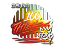 Sticker   100 Thieves (Foil)   2020 RMR