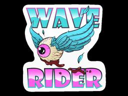 Sticker   Miami Wave Rider