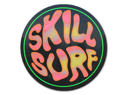Sticker   Coral Skill Surf (Holo)