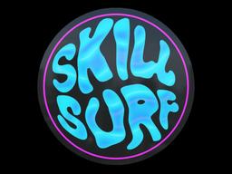 Sticker   Miami Skill Surf (Holo)