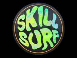 Sticker   Ocean Sunset Skill Surf (Holo)