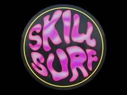 Sticker   Bubble Gum Skill Surf (Holo)