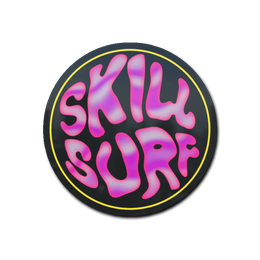 Bubble Gum Skill Surf (Holo)