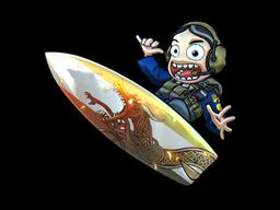 Sticker   Dragon Lore Surf Ava (Foil)