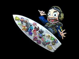 Sticker | Sticker Bomb Surf Ava (Foil)