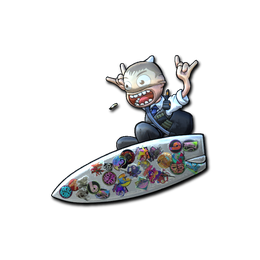 Sticker Bomb Surf K (Foil)