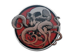Sticker   Blood Moon Tentaskull