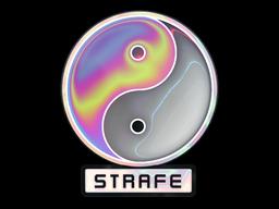 Sticker   Neon Opal Strafe (Holo)
